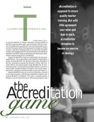 The Accreditation Game - Education Next