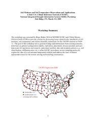 Workshop Report - US Drought Portal