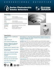 Series Photoelectric Smoke Detectors