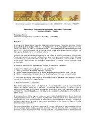 InfoAndina y ASOCAM Proyecto de Saneamiento ... - Condesan