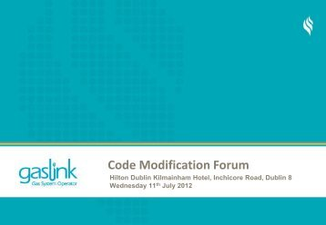 Code Modification Forum - Gaslink