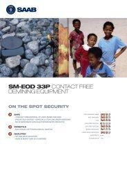 SM-EOD 33P CONTACT FREE DEMINING EQUIPMENT - Saab