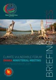 CLIMATE VULNERABLE FORUM DHAKA MINISTERIAL ... - DARA