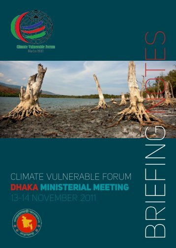 CLIMATE VULNERABLE FORUM DHAKA MINISTERIAL ... - DARA