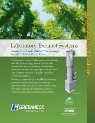Laboratory Exhaust Systems