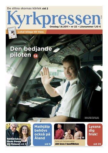 Kyrkpressen 22/2011 (PDF: 3.3MB)