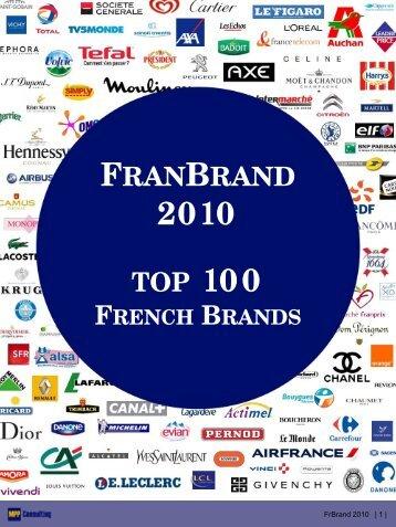 FrBrand 2010 | 1 | F RAN B RAND - MPP Consulting