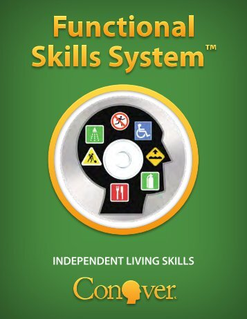 INDEPENDENT LIVING SKILLS - Conover Company