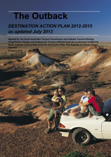 Outback Destination Action Plan - South Australian Tourism ...