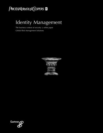 Identity Management - Security Gauntlet Consulting