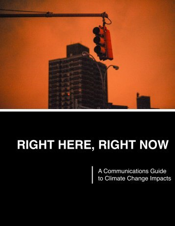 RIGHT HERE, RIGHT NOW - Climate Access