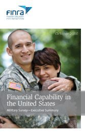 Financial Capability in the United States: Military Survey—Executive ...