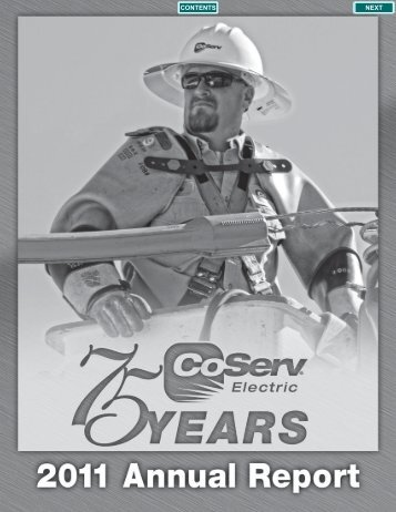 2011 Annual Report - CoServ.com