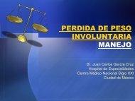 PERDIDA DE PESO INVOLUNTARIA MANEJO