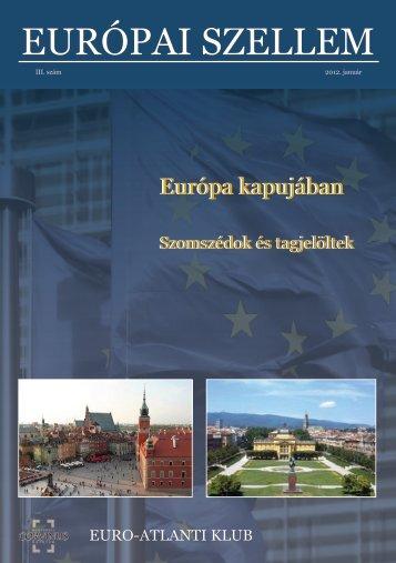 Európai Szellem III. (magyar) - Euro-Atlanti Klub
