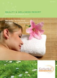 BEAUTY & WELLNESS RESORT - Garberhof