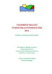 Turisztikai információk - Veszprém megye honlapja