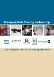 Guidance for Practitioners on Sharing Information - The Moray Council