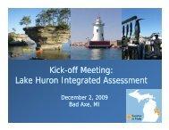 Presentation - Michigan Sea Grant