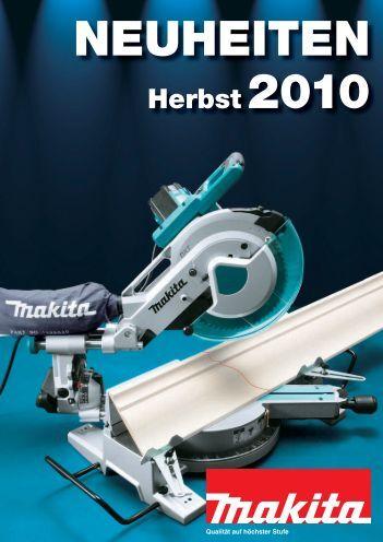 Makita Neuheiten 2010 - freytool Werkzeug Shop