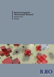 Bestemmingsplan 'Woonstede Nesland' - Ruimtelijkeplannen.nl