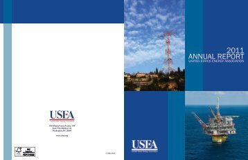 2011 ANNUAL REPORT - United States Energy Association