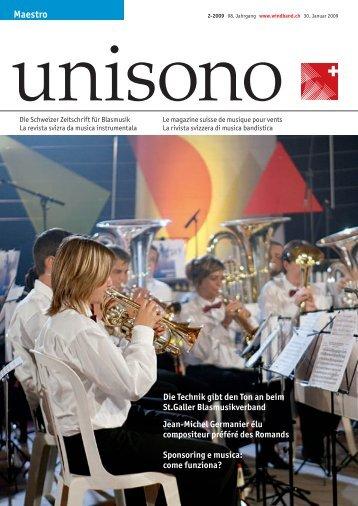 Maestro - Schweizer Blasmusikverband SBV