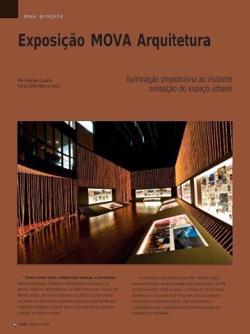 Exposição MOVA Arquitetura - Lume Arquitetura