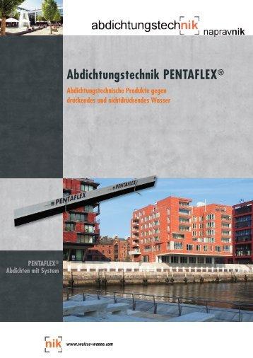 Abdichtungstechnik PENTAFLEX® - Abdichtungstechnik Napravnik