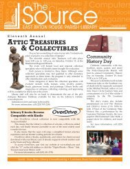 attic treasures & collectibles - East Baton Rouge Parish Library