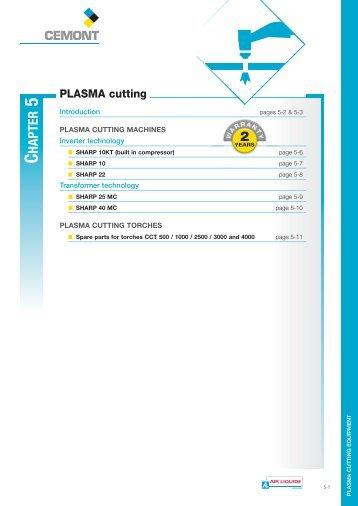 PLASMA cutting - Cemont