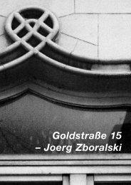 Diese Seite als PDF - Goldstrasse 15