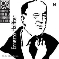 Nº 14: Ernesto Halffter - Orquesta y Coro de la Comunidad de Madrid