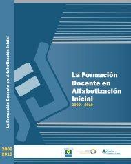 La Formación Docente en Alfabetización Inicial - Cedoc - Instituto ...