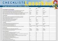 2013-08-28 - Checkliste Laserkauf - Cameo-Laser