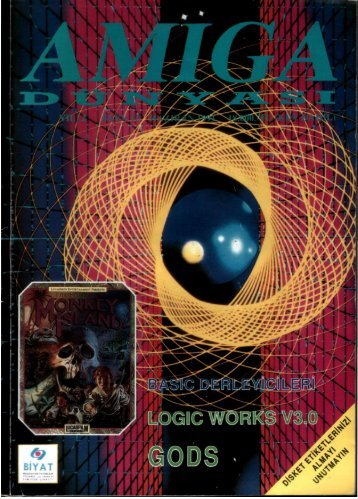 Amiga Dunyasi - Sayi 13 (Haziran 1991).pdf - Retro Dergi