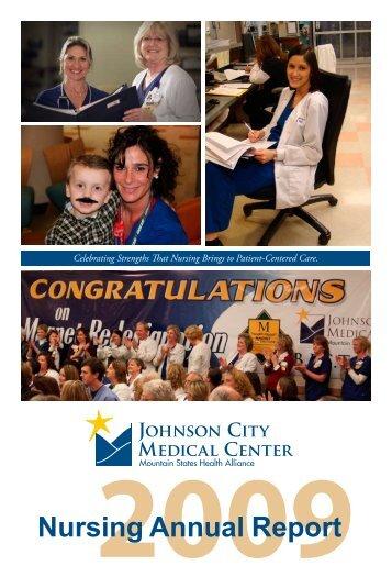 JCMC Nursing Annual Report - Mountain States Health Alliance