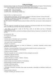 A Era de Vargas - Faculdade Padre Machado