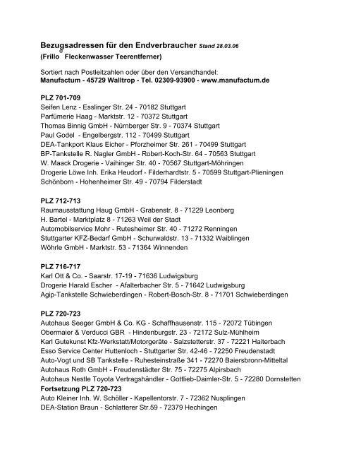 plz friedrichshafen