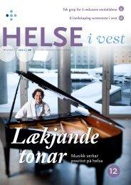 2010-01_Helseivest_web - Helse Vest