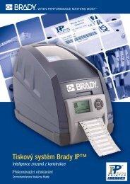 Tiskový systém Brady IP™ - Medial