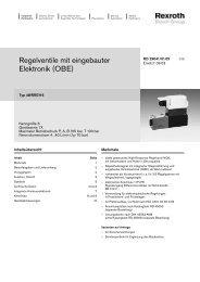 Regelventile mit eingebauter Elektronik (OBE)