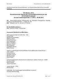 Protokoll konst. Sitzung - 19.06.2013 - Österreichische ...