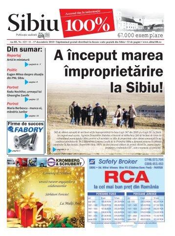 A început marea împroprietărire la Sibiu! - Sibiu 100
