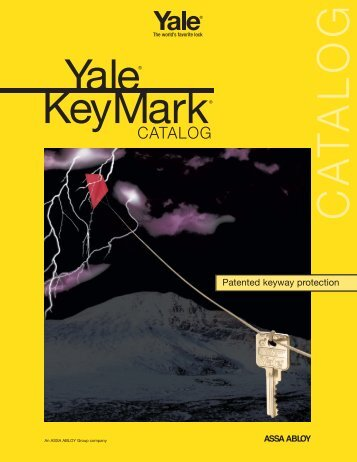 Yale KeyMark Catalog - Locksmith Security Association of Michigan ...