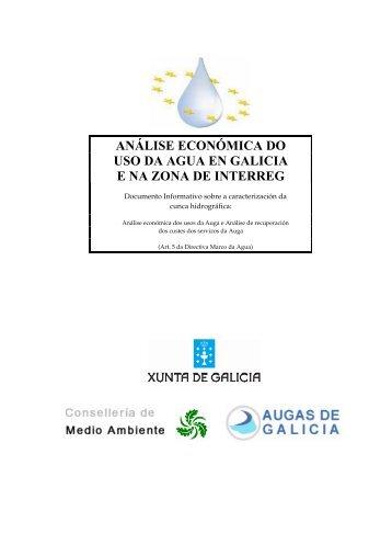 ANÁLISE ECONÓMICA DO USO DA AGUA EN ... - Augas de Galicia