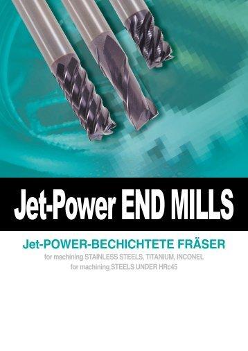 Jet-POWER-BECHICHTETE FRÄSER - lubtek.ro
