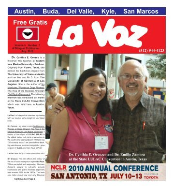 La Voz de Austin July, 2010.pmdprinter - La Voz Newspapers
