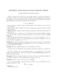 alternative lecture notes - Rational points and algebraic cycles