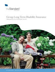 Group Long Term Disability Insurance - Fringe Benefit Resources